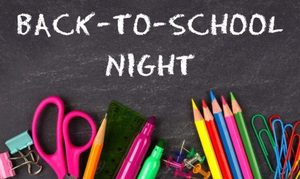 Hinton Elementary Back to School Night