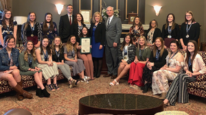 Hinton Cheer Team Recognized
