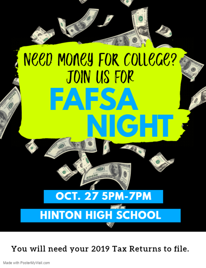 Oct 27 FAFSA Night