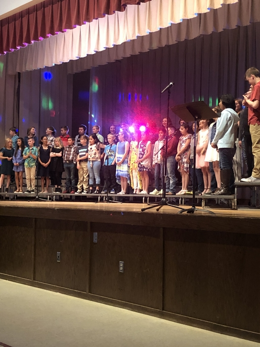 The Spring Vocal Concert was nothing short of incredible!!! Great job to 5th Grade Choir, Middle School Choir, High School Choir, and of course Mr. Allen! #HOKComets #HOKMiddleSchool